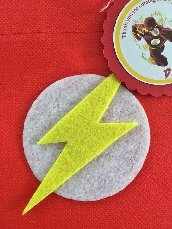 dca265dec Estos tratan bolsas son un complemento perfecto para tu fiesta temática el  Flash. Es la