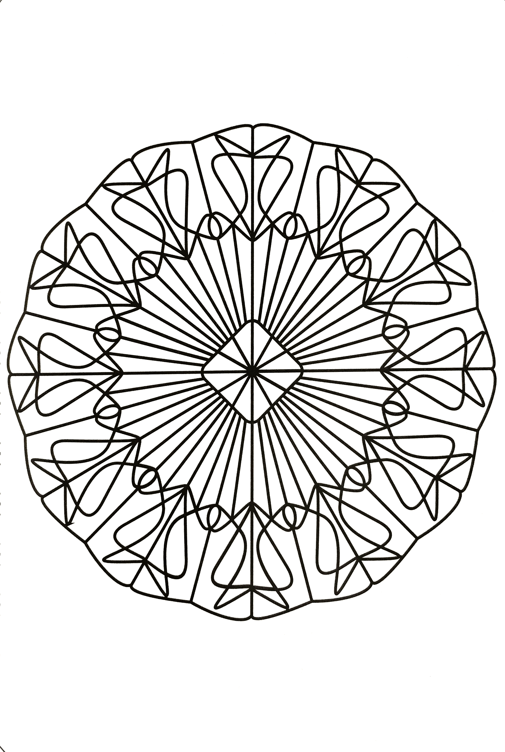 Free coloring page mandalas to for free 27