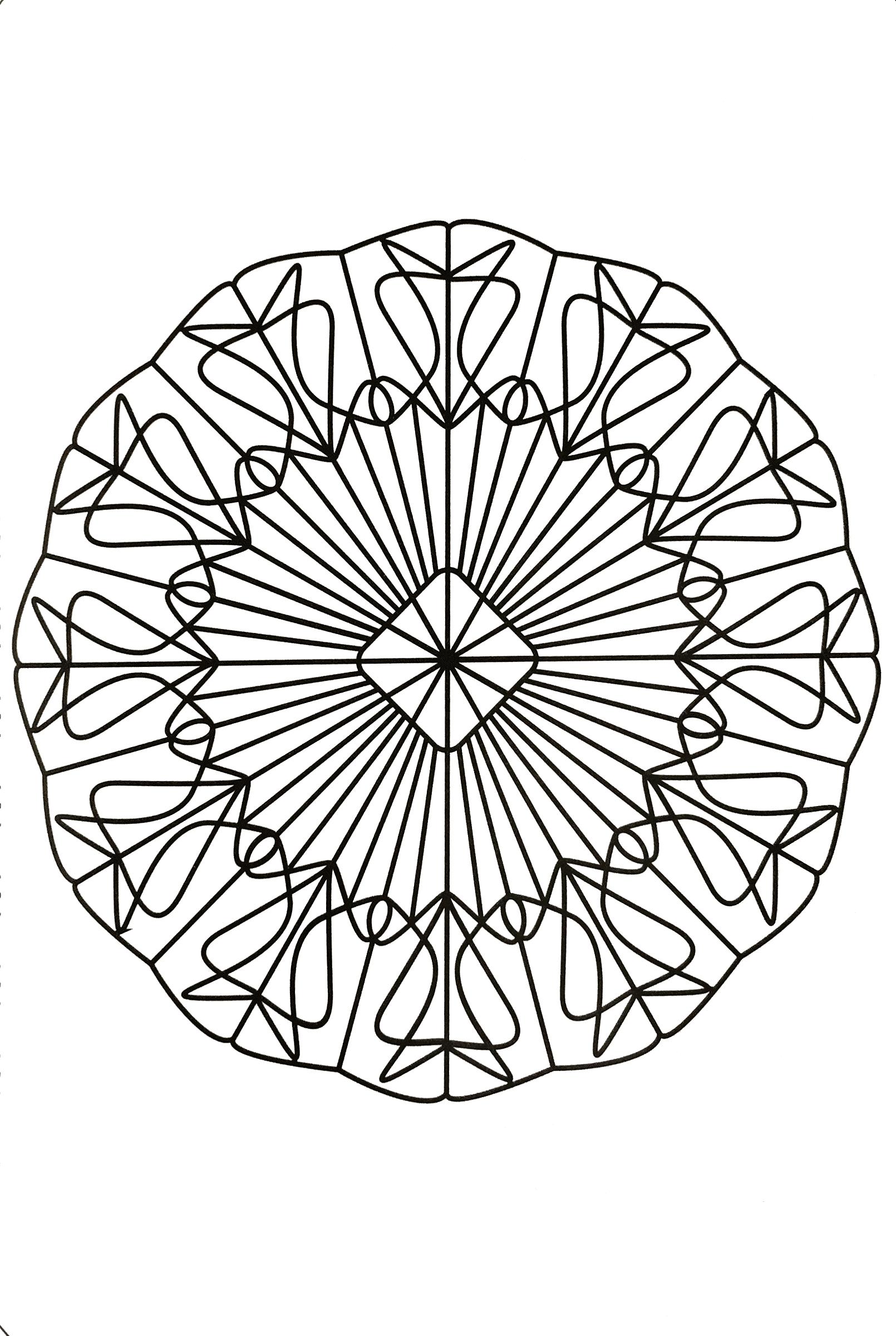 Free coloring page mandalas-to-download-for-free-27. #Mandala ...