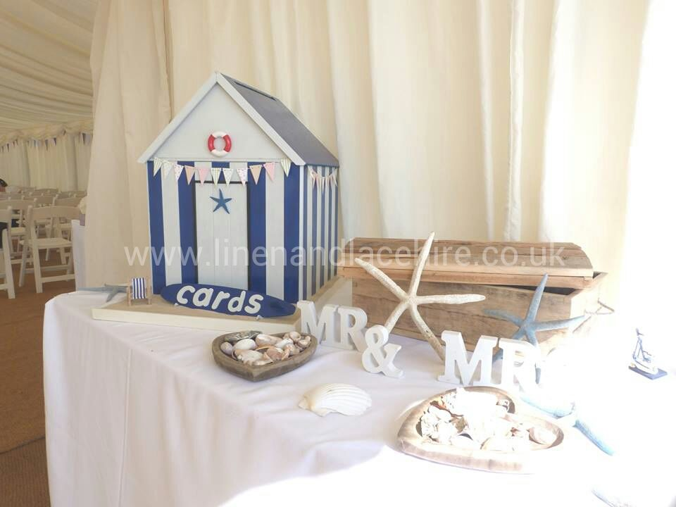 Our Amazing Beach Hut Post Box At The Stunning Weddings Bournemouth