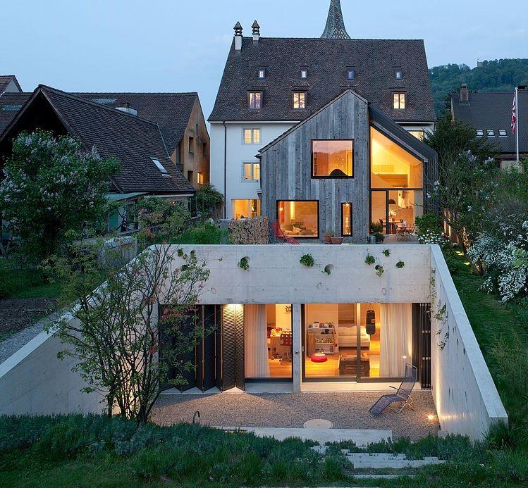 The Renewed Kirchplatz Home Office in Muttenz, Switzerland ...