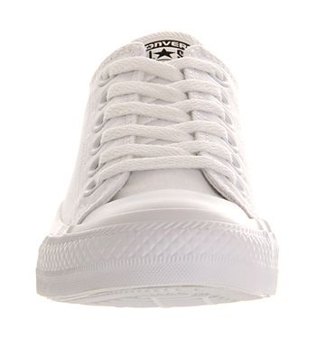 fc6fb5fbe0c Converse Converse All Star Low White Mono Canvas - Unisex Sports