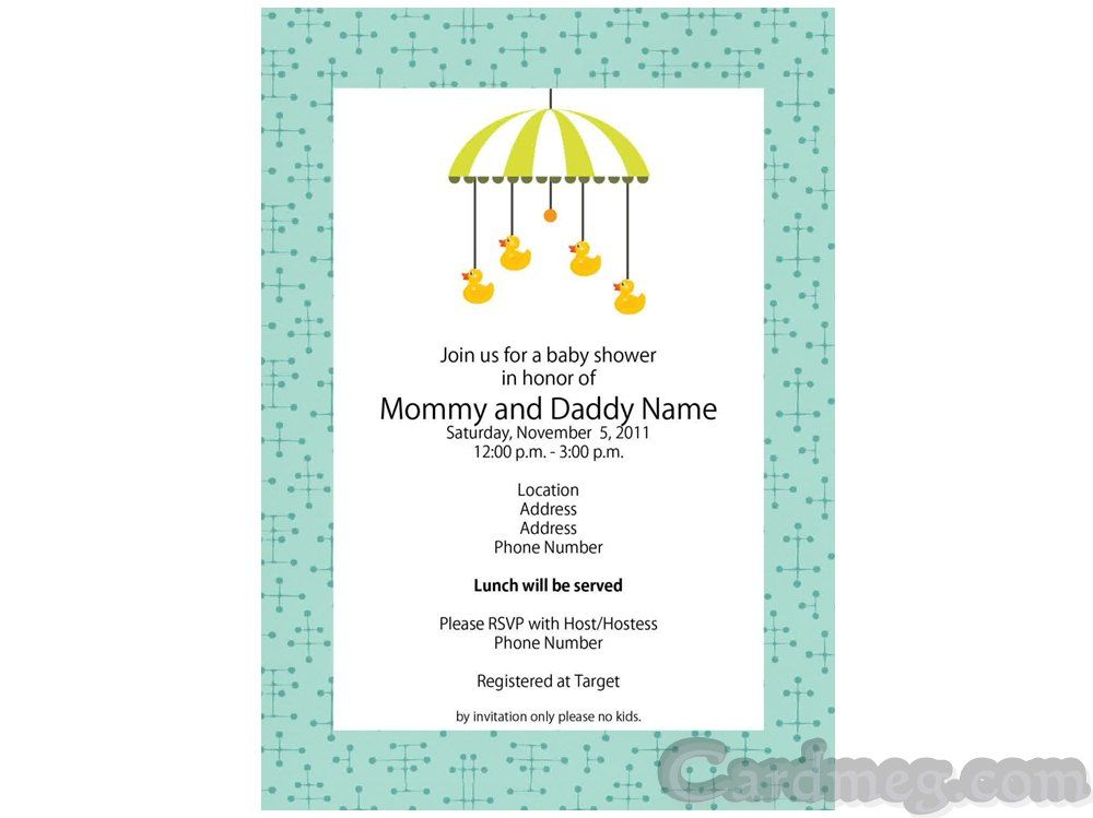 Baby Shower Invitations Baby Shower Invitations Template - baby shower flyer template free