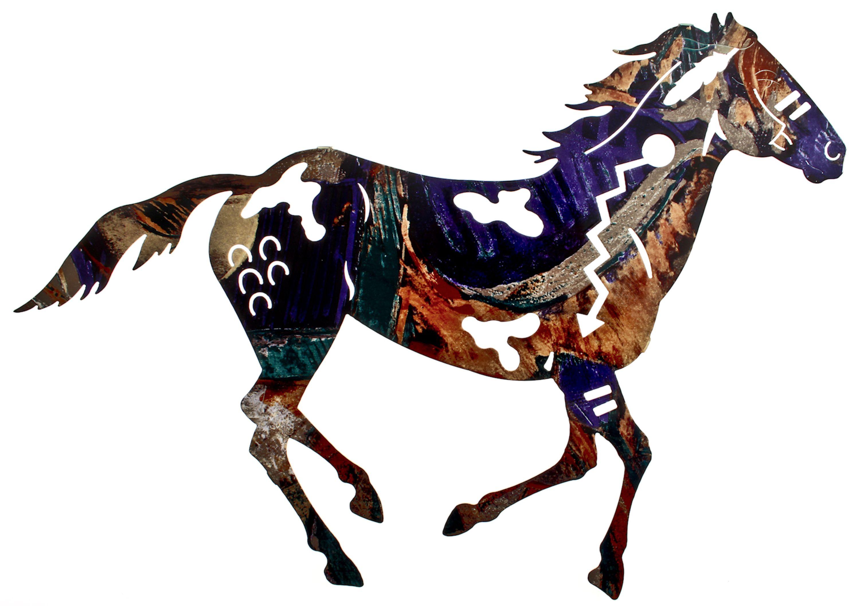 Horse wall art rustic decor horse