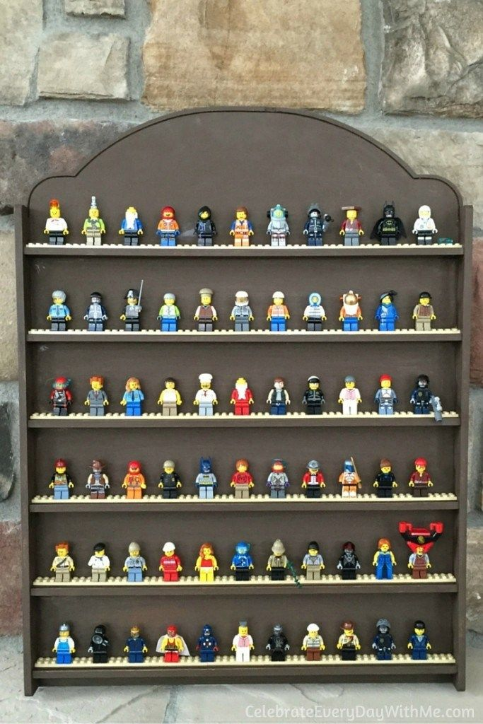 The Best Lego Minifigure Display Ideas For Kids Lego