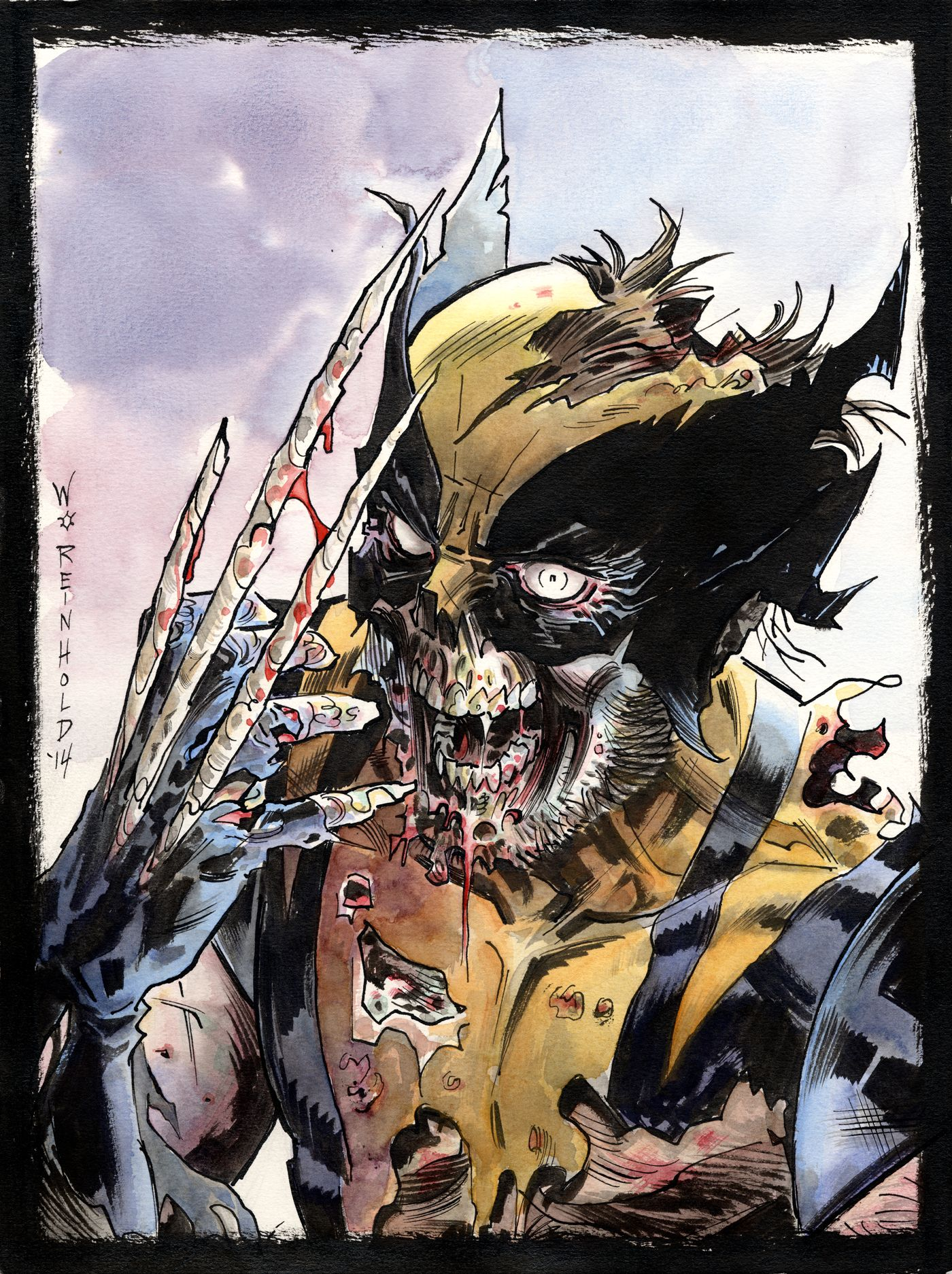 Wolverine Zombie by on