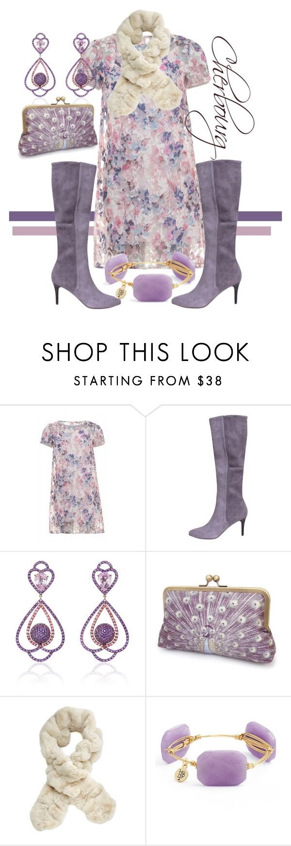 """""""cherbourg"""" by rellenj ❤ liked on Polyvore featuring Maglie I Blues, Cole Haan, Sabbadini, Fabulous-Furs and Bourbon and Boweties"""