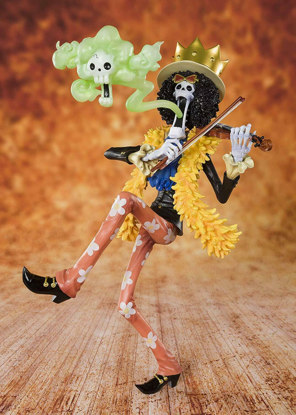 Details about ☀ One Piece Brook Bandai Tamashii Nations