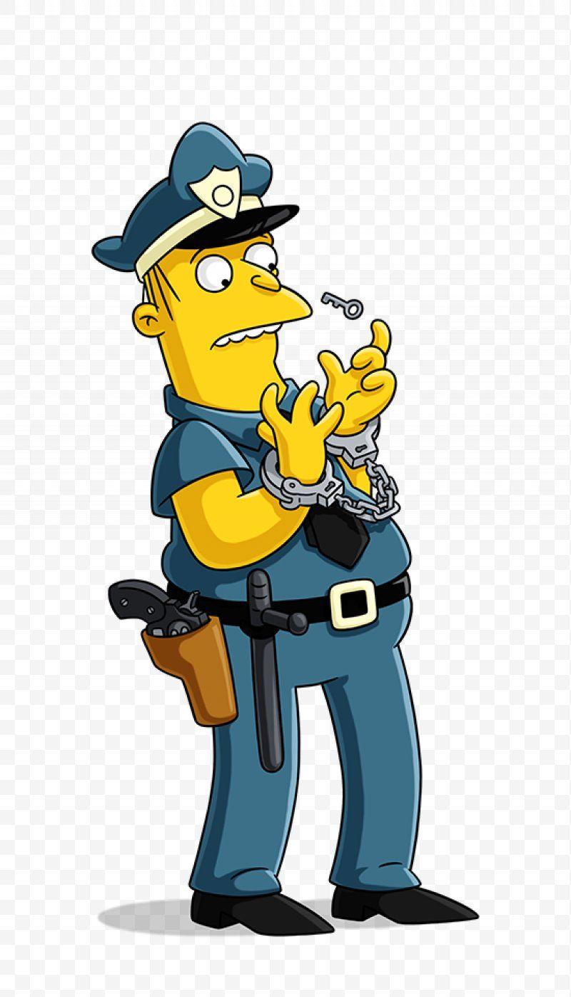 The Simpsons Movie Chief Wiggum Homer Simpson Kearney Zzyzwicz Jimbo Jones Dr Hibbert Png Chief Wiggum Animation Art Ca Simpson Simpson Tv The Simpsons