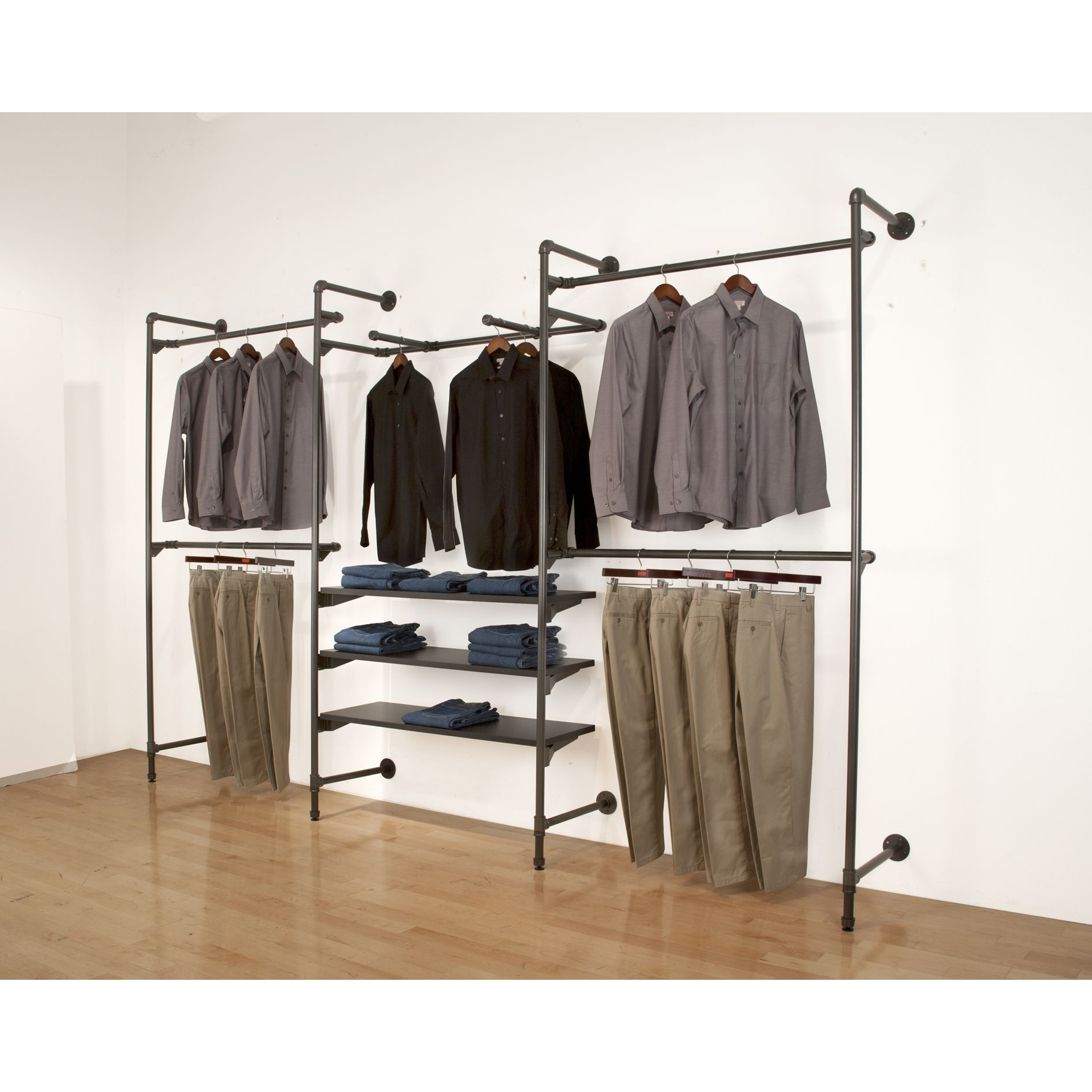 Canopy Double Hanging Garment Rack Upc Product Image For