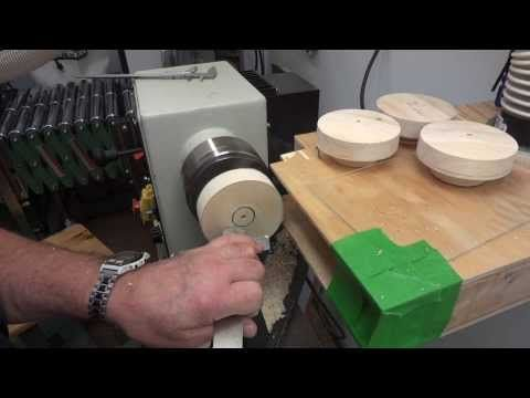 Several Of The Toys I Make Require Wood Wheels This Wheel Making Jig Lets Me True Up The Circumference And Shape T Wooden Wheel Wooden Toys Plans Wooden Wagon
