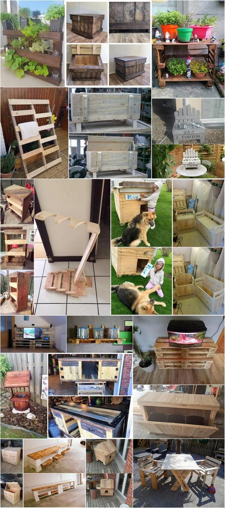 Innovative Ideas to Upcycle Old Wood Pallets | Home and Garden ...