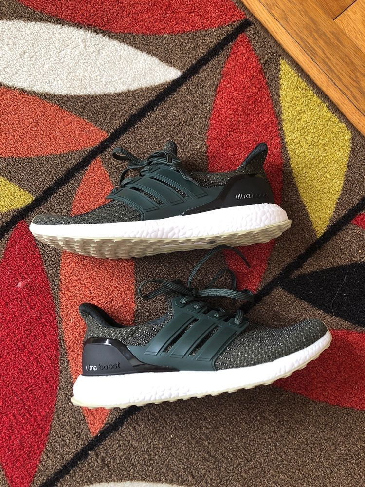 finest selection b2b6e e44e8 Adidas Ultra Boost 3.0 Trace Cargo Olive Green Size 9.5 Dead Stock Brand  New  fashion  clothing  shoes  accessories  mensshoes  athleticshoes (ebay  link)