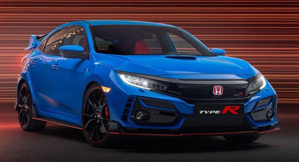 2020 Honda Civic Type R Brings Revised Looks Improved Mechanicals And Fake Engine Noise Honda Civic Type R Honda Type R Honda Civic