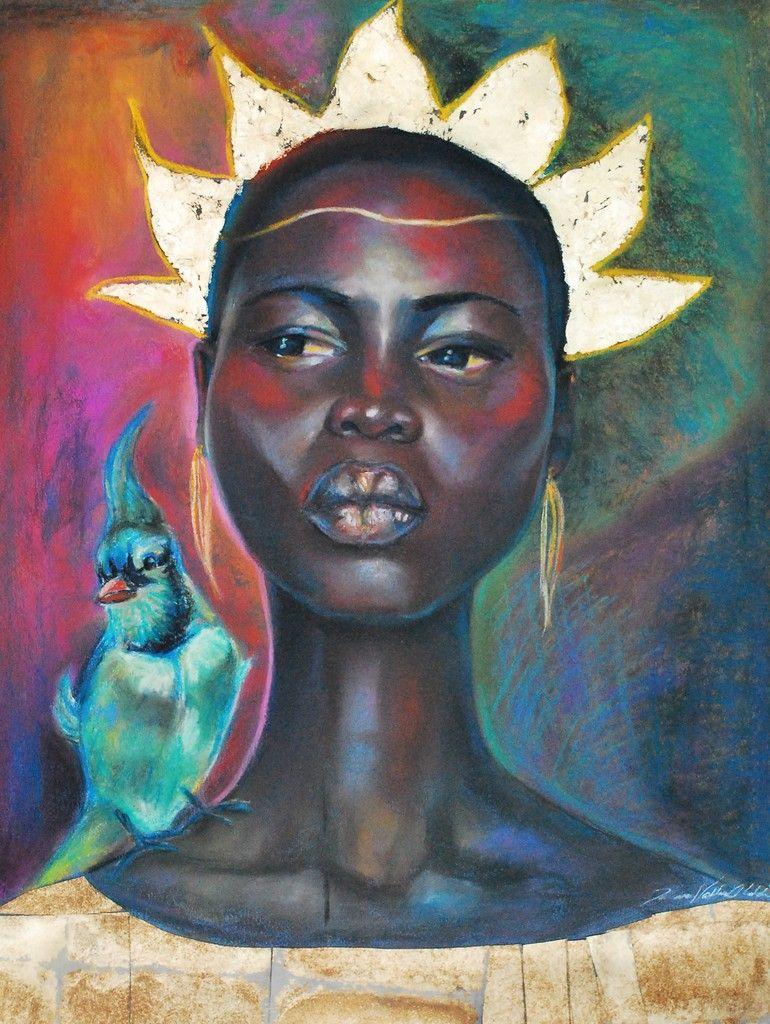 loquence: tamara natalie madden jamaican born painter mixed media