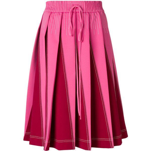 Sale Online Shop VLTN Pleated Skirt Valentino Many Kinds Of Cheap Price zYmzc