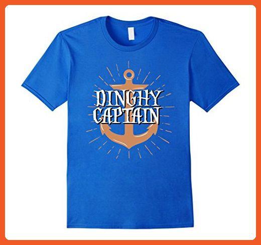 2d125b4046 Mens Dinghy Captain Funny Sailing Crew T-shirt Medium Royal Blue - Funny  shirts (*Partner-Link)