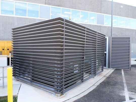 Dumpster Enclosure Design Google Search Scale Design Fence Screening Design