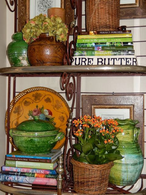 The French Tangerine Pottery Kitchen Tuscan Decorating