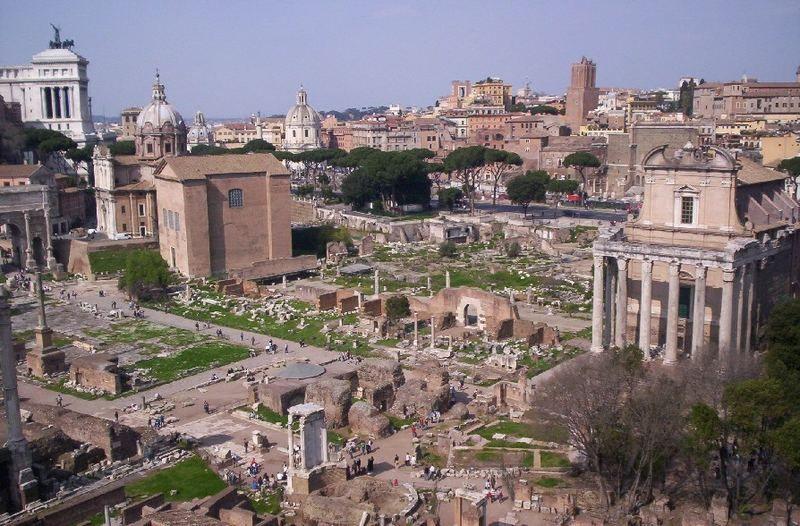 Ruine, Roma