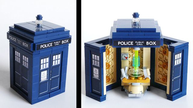 Doctor Who The First Week Doctor Who Lego Tardis