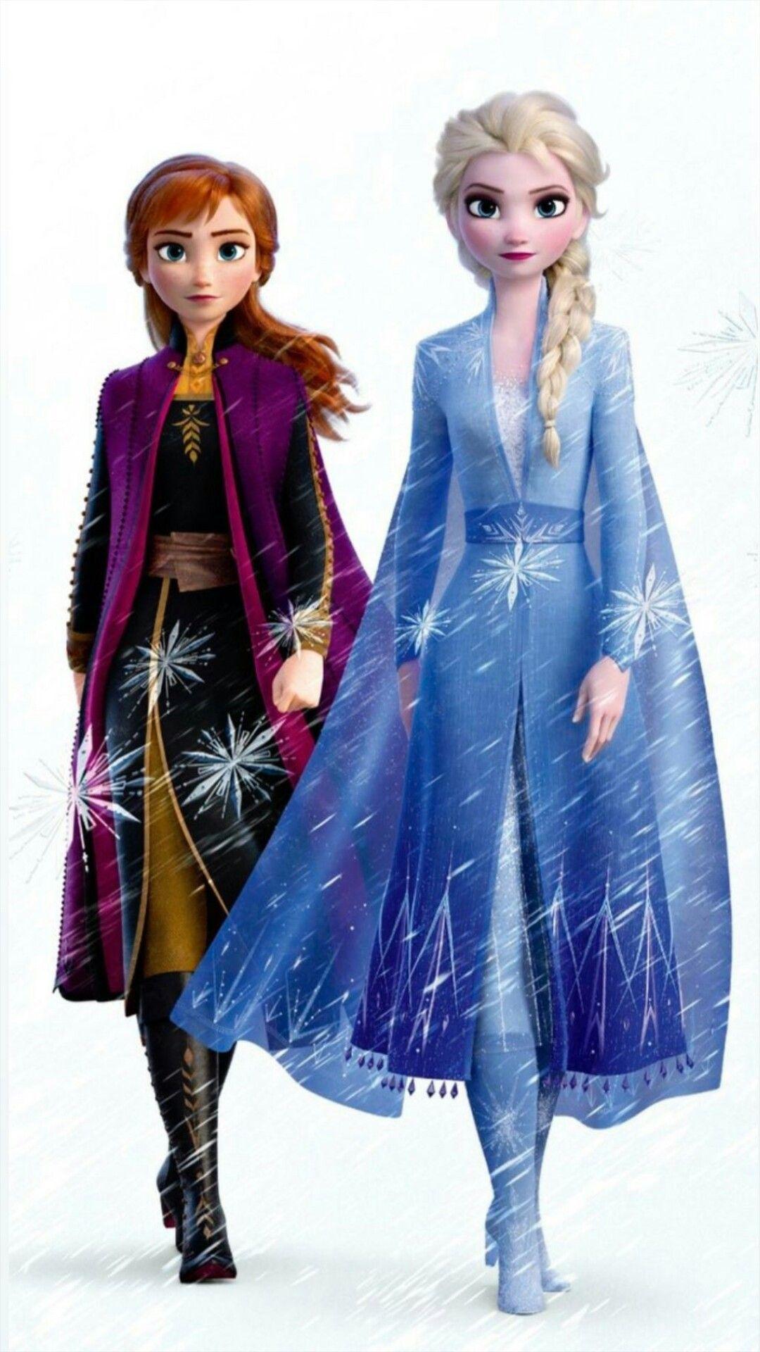 Anna And Elsa Frozen Ii Disney Frozen Elsa Art Frozen Disney Movie Disney Princess Pictures