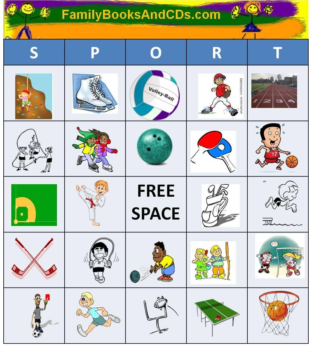 SportBingo! Everyone loves Bingo. Have fun calling out