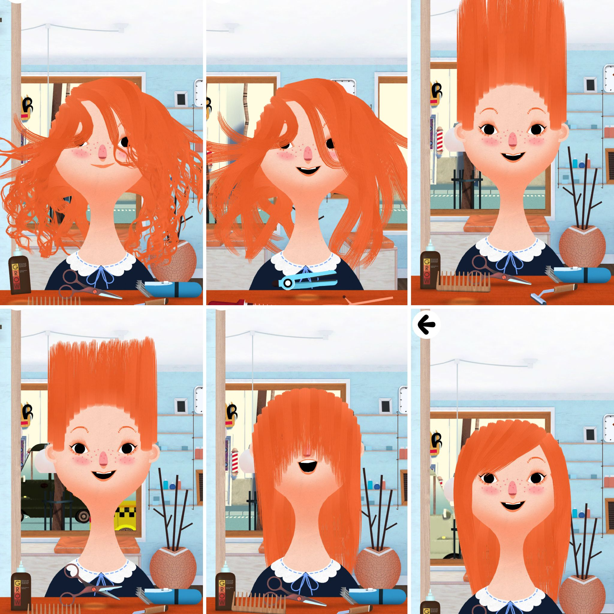 Toca Boca Hair Salon How To Get The Perfect Haircut On Toca Boca Hair Salon I Used