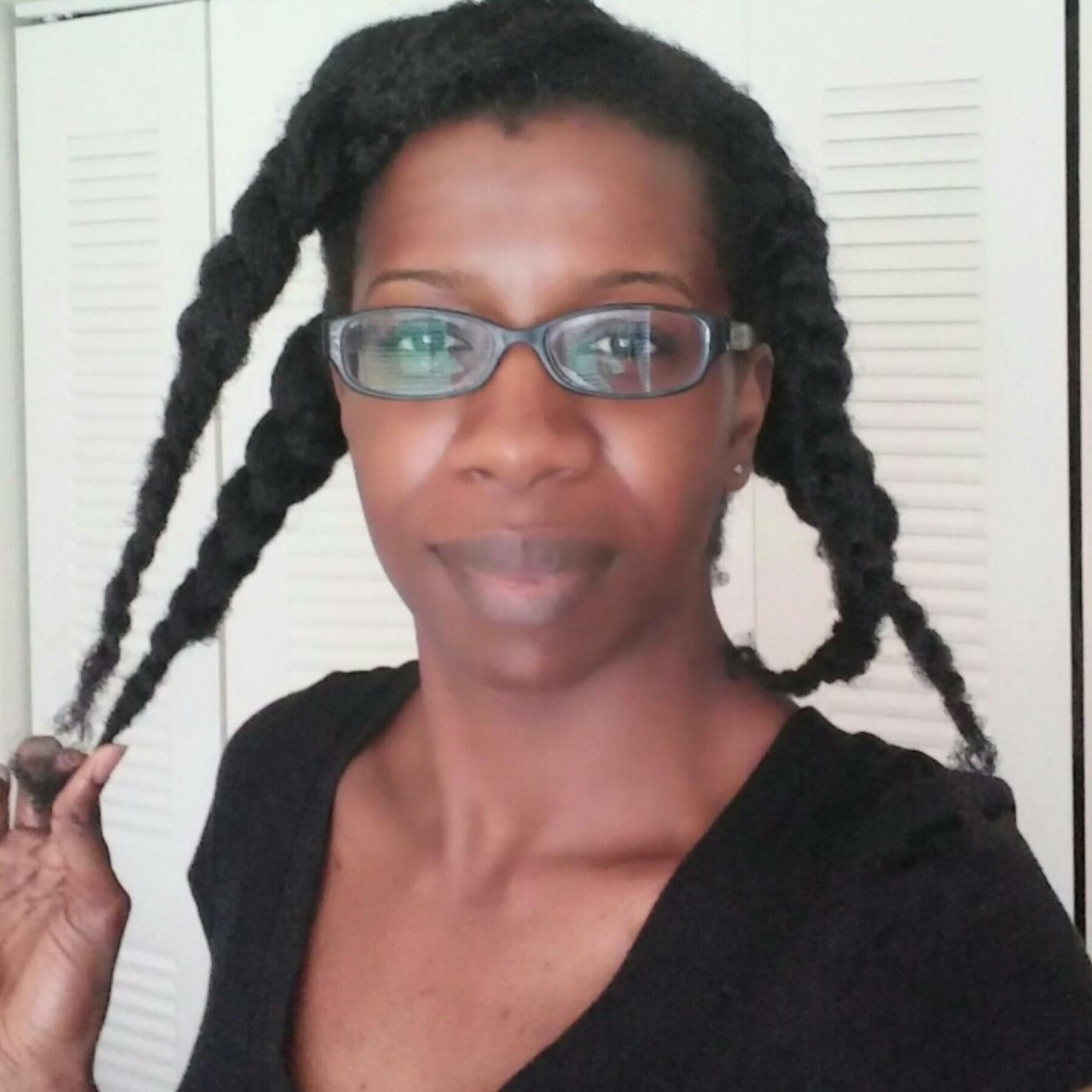 Washing Your Hair In Thick Braids Or Twists Like These Will Help