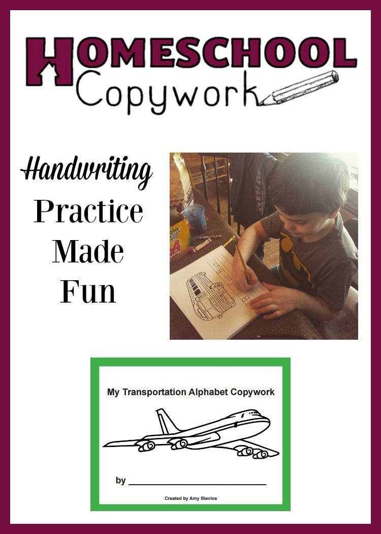 Fun Handwriting Worksheets For Your Child To Practice Homeschool