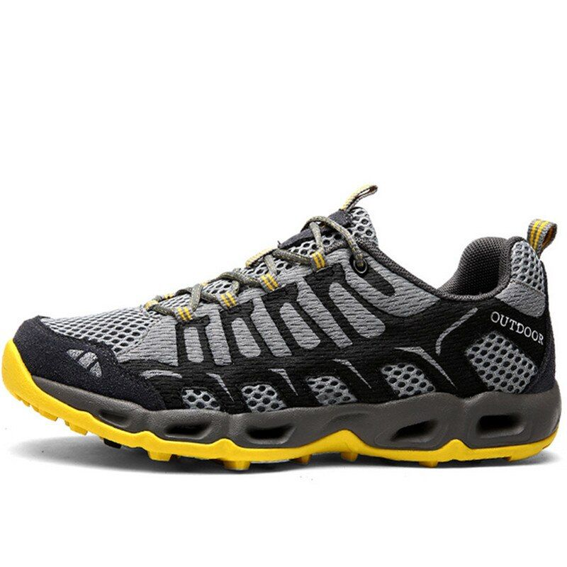 SELCNG Hiking Shoes wear-Resistant Non-Slip Outdoor Shoes Sports and Leisure Mens Hiking Shoes