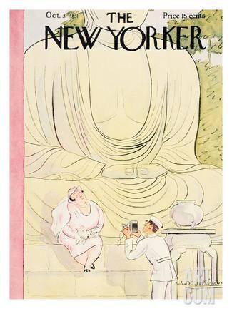 The New Yorker Cover - October 3, 1931 Regular Giclee Print by Helen E. Hokinson…