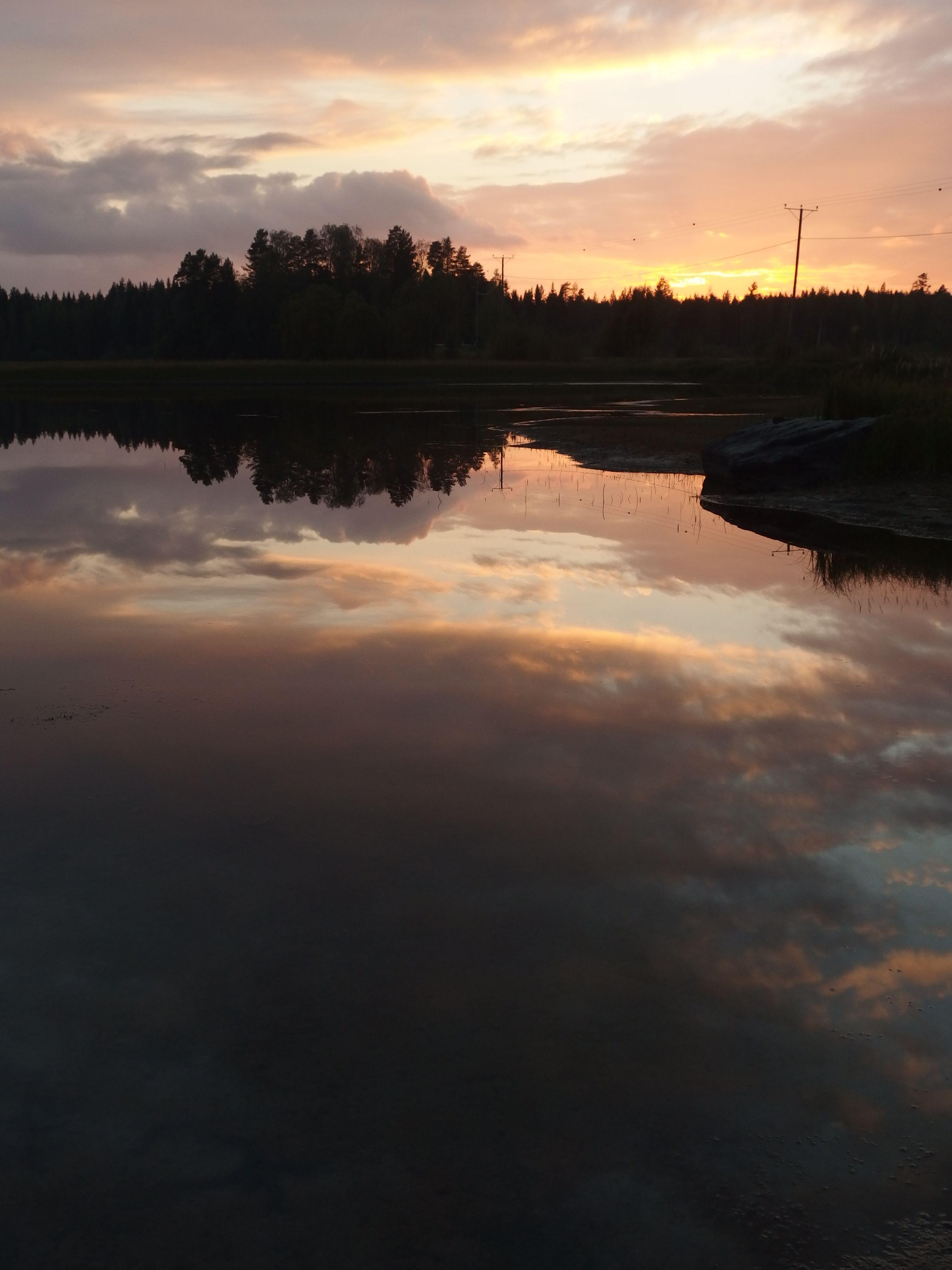 auringonlasku  Virroilla