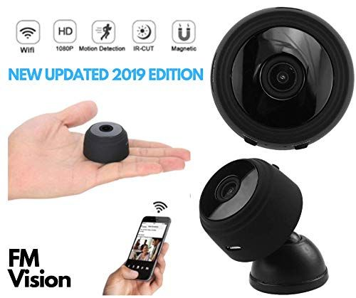 Mini HD Hidden WiFi Spy Camera, Wireless Indoor Home