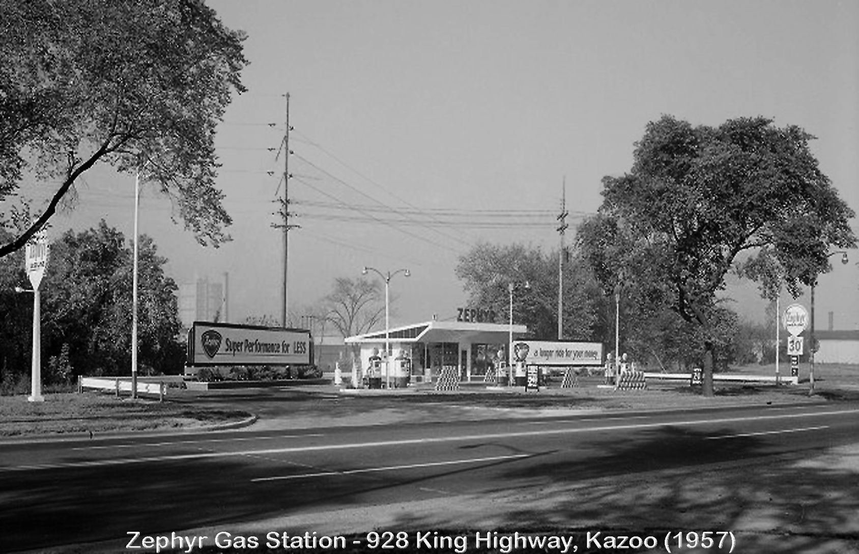 Old Gas Stations - Kalamazoo, MI | Gas Stations of Old | Pinterest | Gas pumps and Wheels