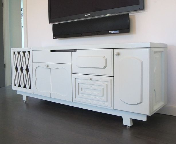High Quality Mixed Breed Media Credenza By Thomas Wold