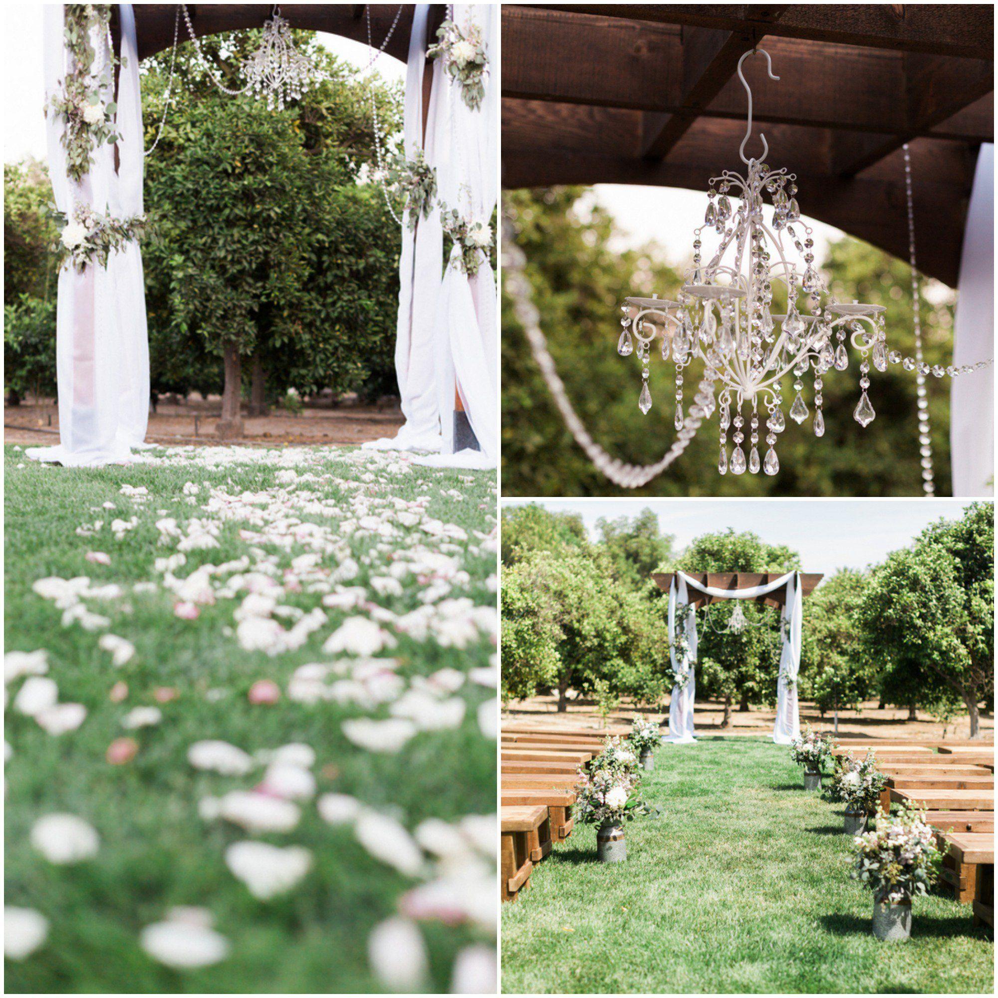 Country Shabby Chic Wedding Outdoor CeremoniesOutdoor