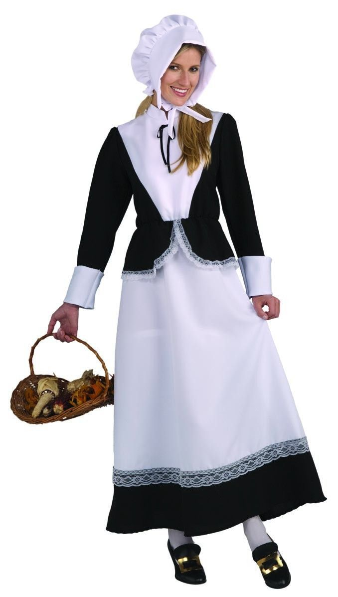 Instant Pilgrim Set Thanksgiving Adult//Child Costume