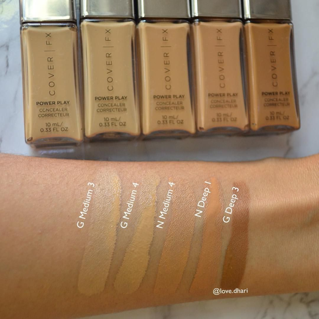 Power Play Concealer by Cover FX #4
