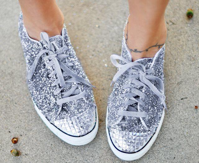 Glittery Sneakers!
