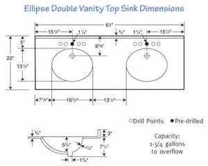 Double Sink Bathroom Vanity Dimensions Homyracks