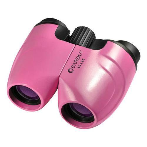 Barska 10x25 Binoculars in Pink