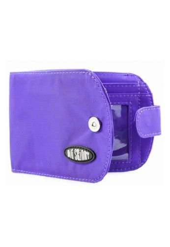 Nylon Taxicat Wallet from Big Skinny Wallets in purple_1