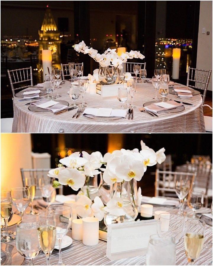 Chic All White Boston Wedding Wedding Reception Venues Mod
