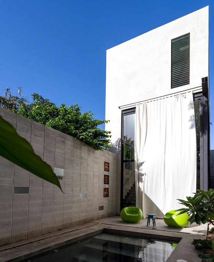 modern mexican house located in yucatan mexicans box houses and house