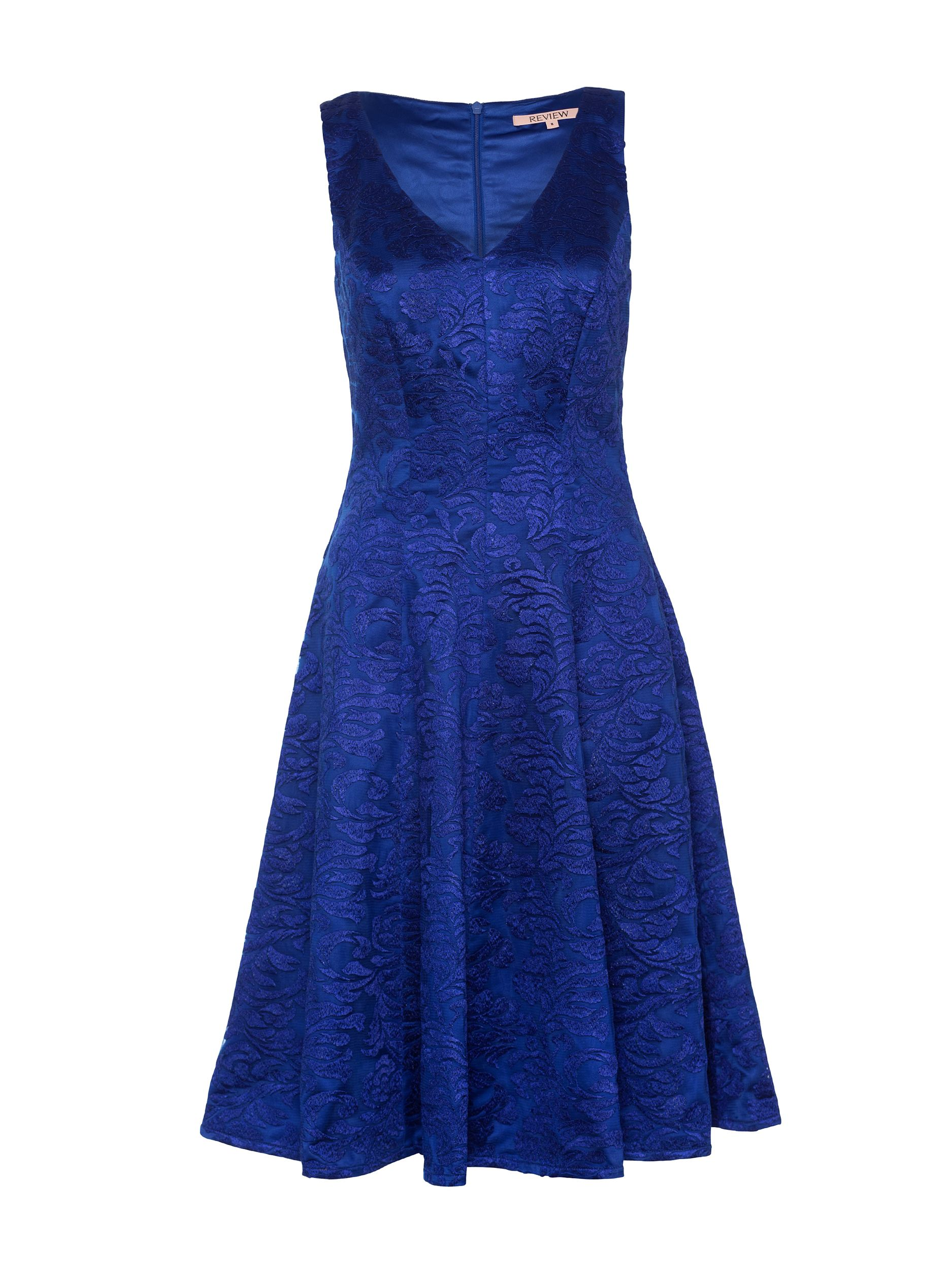 Strike a cutting figure with the Midnight River Dress, a