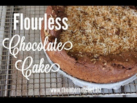 How to make a Flourless Gluten free Chocolate cake #recipe