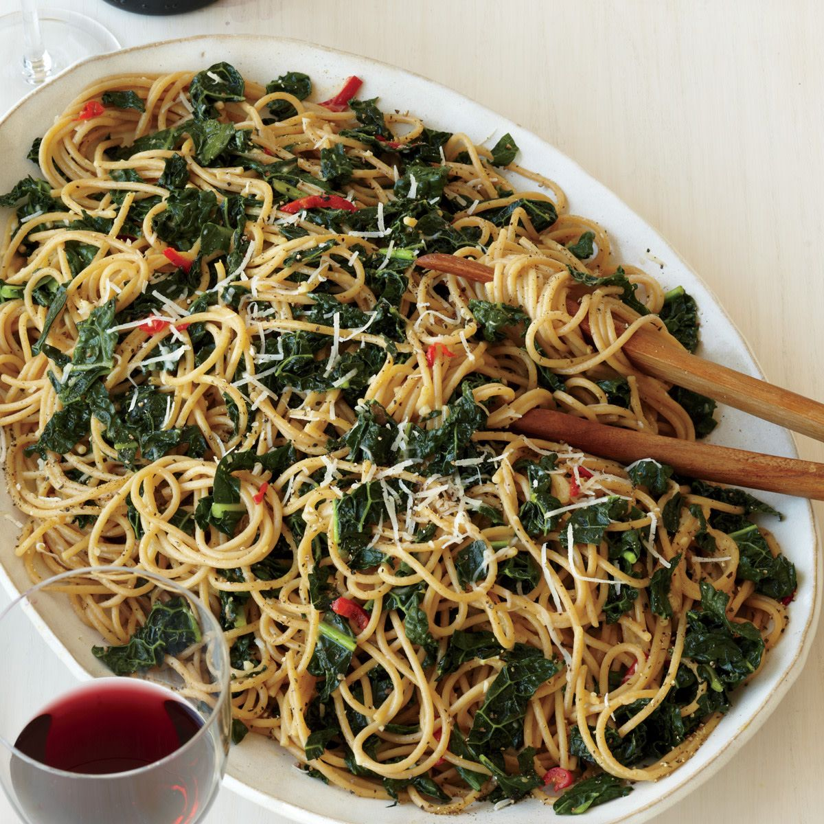 Whole Wheat Spaghetti With Anchovies And Kale Recipe Whole Wheat Spaghetti Best Spaghetti Recipe Anchovies