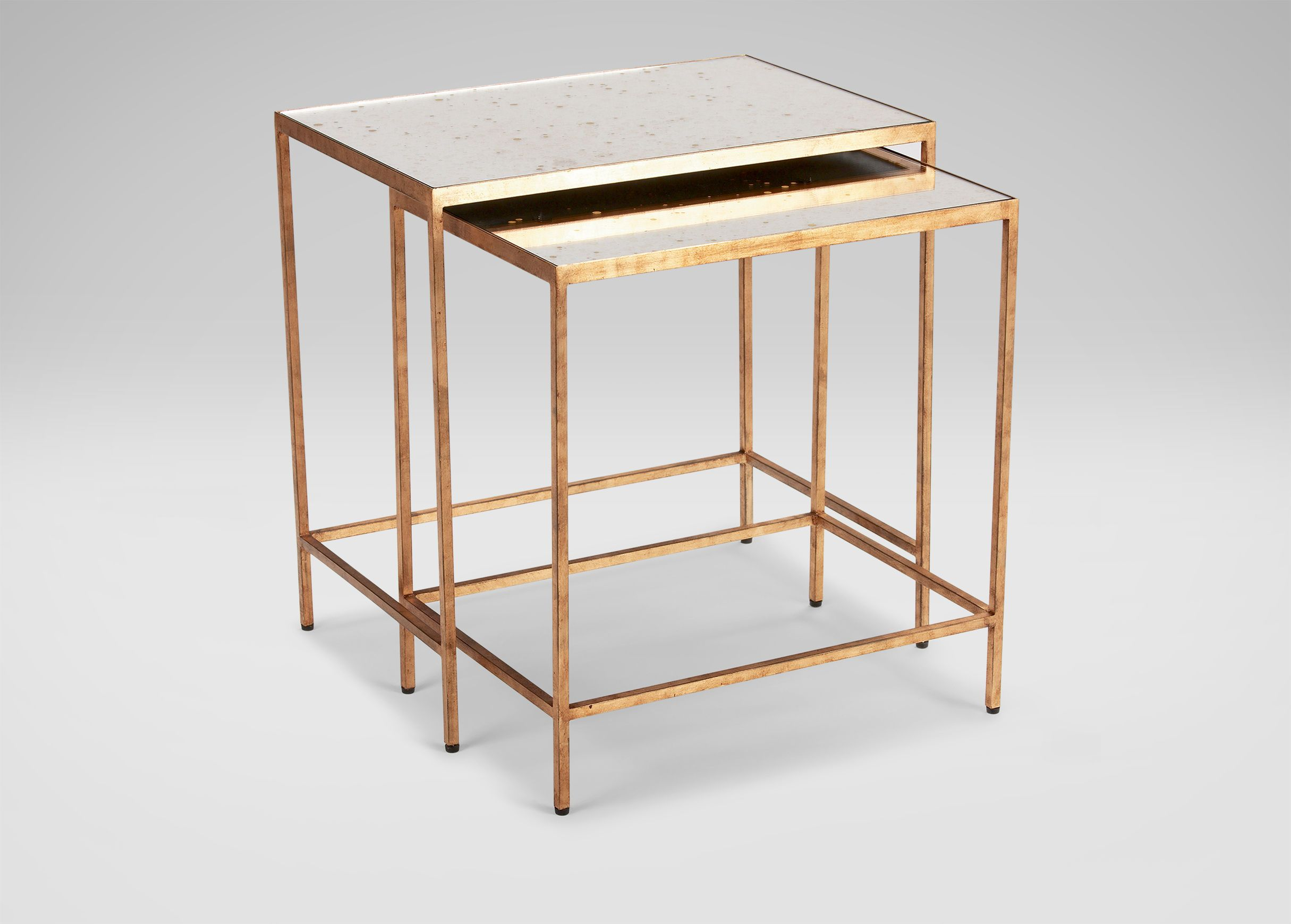 Zachary Nesting End Tables - Ethan Allen   Nesting side table ...