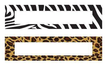 Name Plate Templates Classroom Theme Pinterest Template - Name plate template